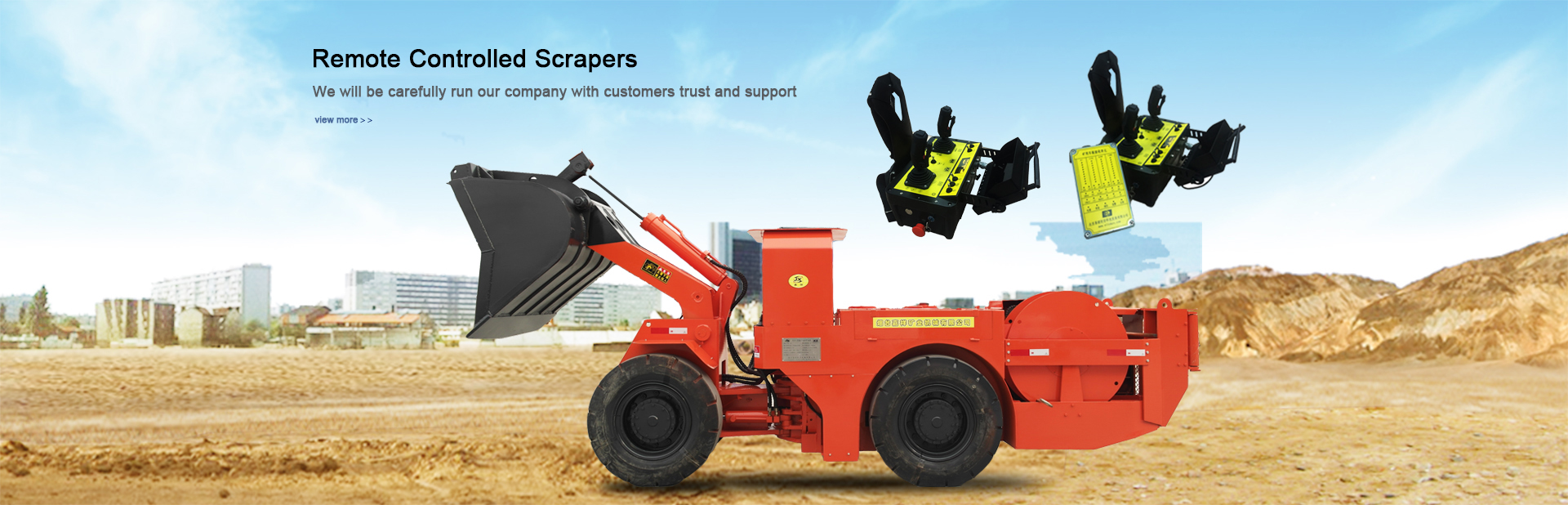 Remote Controlled Scrapers